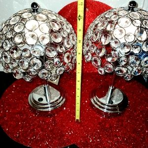 Brand New With Tags Pier 1 Crystal Led Lamps